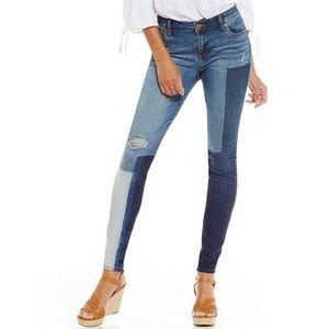 Catherine Boyfriend Colorblock Jeans